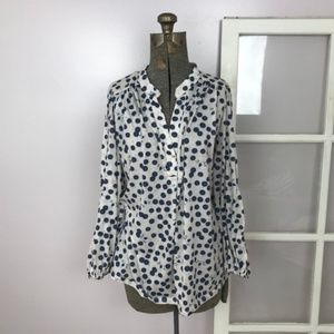 Anna Glover x H&M Polka Dotted Insect Blouse
